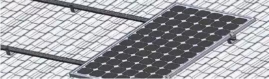 组件与铝型材连接
