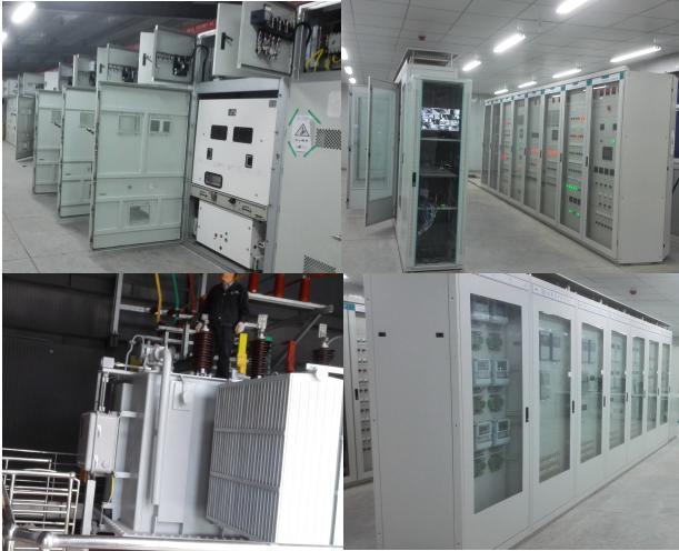 2、工程范围:EPC总承包,包括设计、施工、调试等 3、设计单位:湖南湘能电力勘测设计有限公司 4、施工单位:湖南湘能电力强弱电实业有限公司 二、承包范围 该站为新建的装配式变电站,三台主变压器、110KV GIS组合电器、10KV开关柜、10KV消弧装置、并联电容器补偿装置及控制保护柜分别布置于独立室内。保护采用微机保护,控制采用综合自动化系统。包括施工图纸设计,全站接地及土建基础、钢结构的制作及安装,还包括围墙、围墙内的消防设备、围墙内的路面硬化以及围墙内的电缆沟渠的施工及水、暖、照明、空调等全部工作