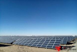青海格尔木50MWp光伏发电项目